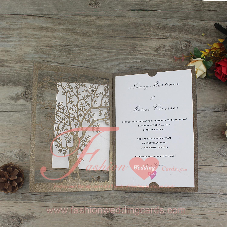 laser cut tree invitations online wedding invitations With laser cut wedding invitations online australia