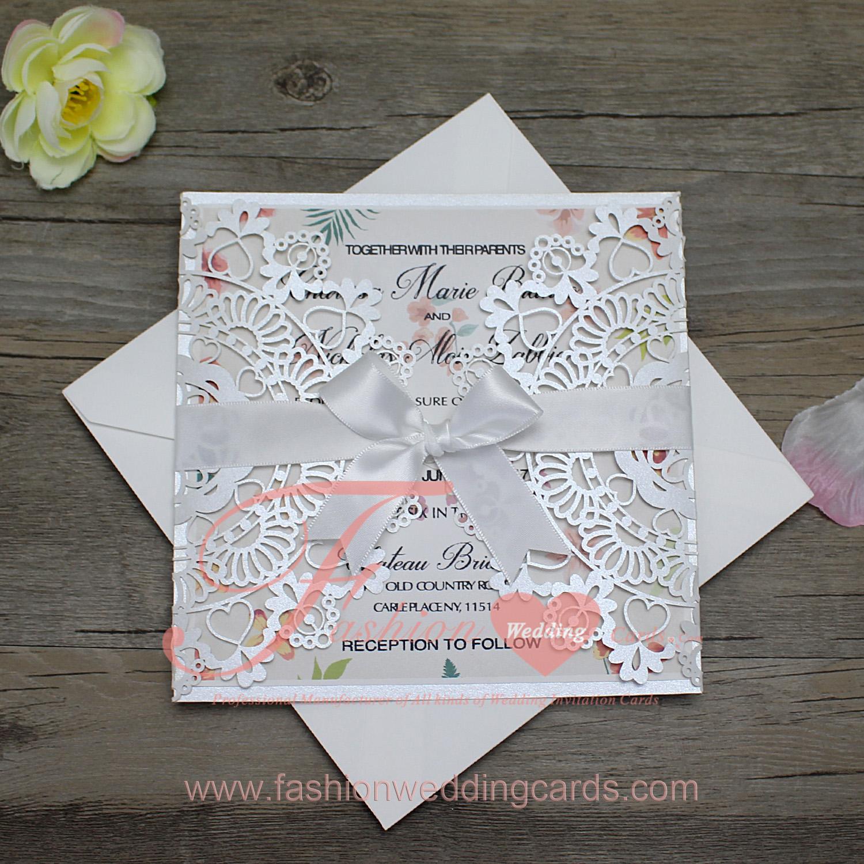 wedding invitations laser cut cheap laser cut invitations uk