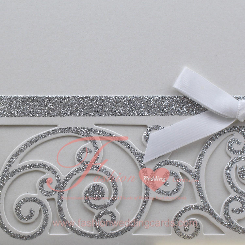 Pocket Style Wedding Invitations Lazer Cut Wedding Invitations
