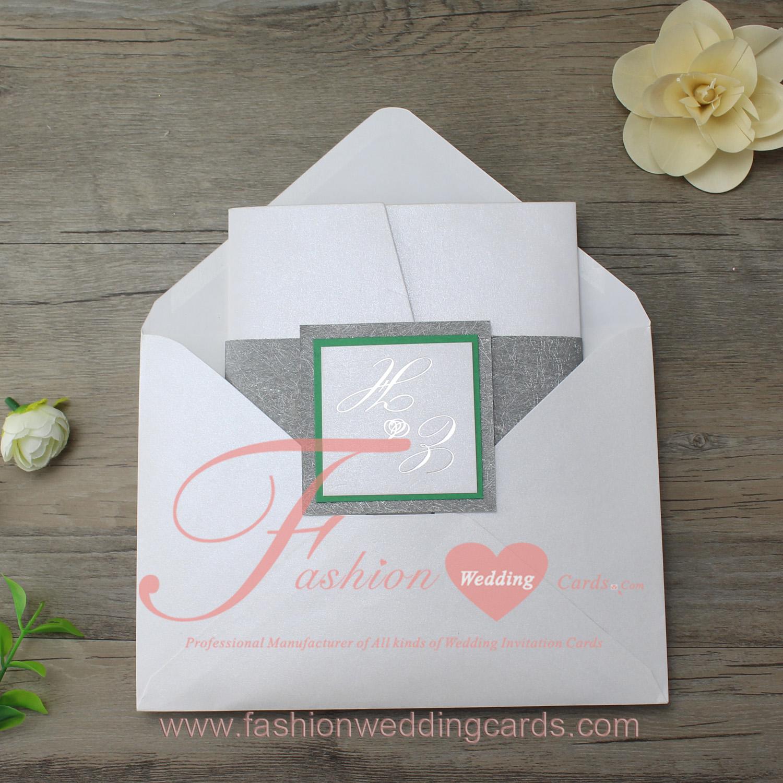 Pocket Fold Wedding Invites| Wedding Cards Design Samples
