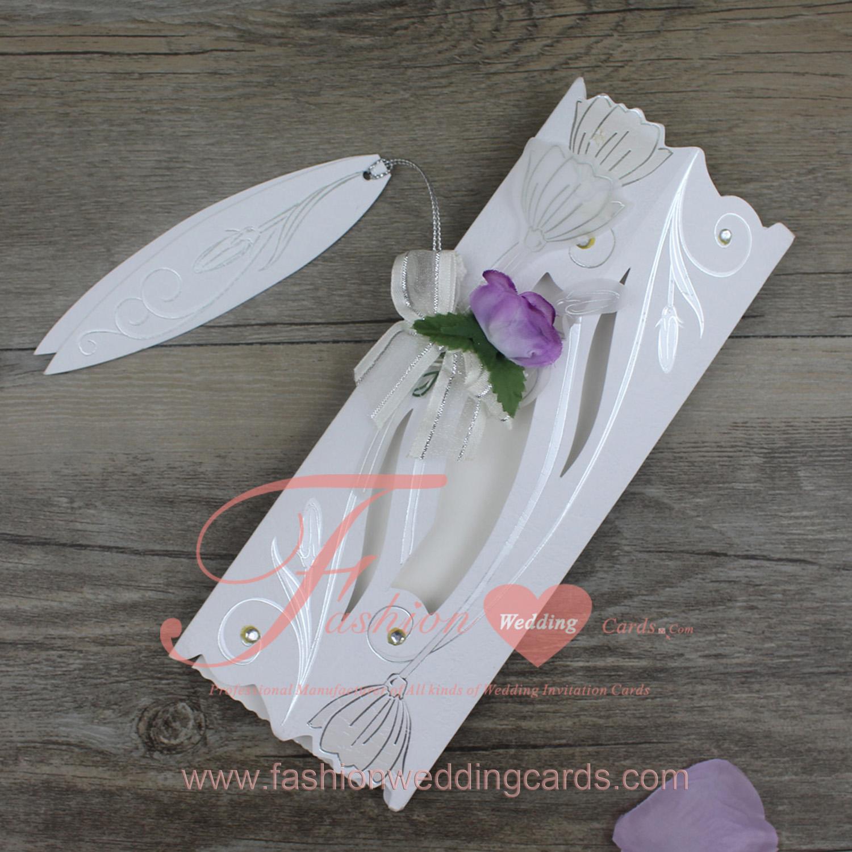 Rolled Wedding Invitations: Ivory Wedding Scroll Invitation, Roll Wedding Invitation Cards
