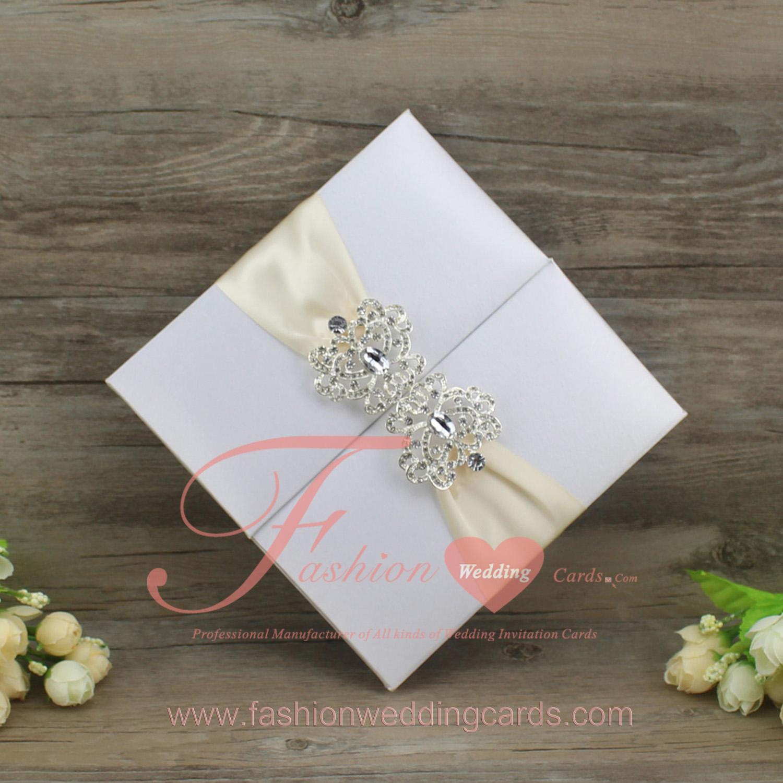 Silk Wedding Invitation Folio | High End Wedding Invitations