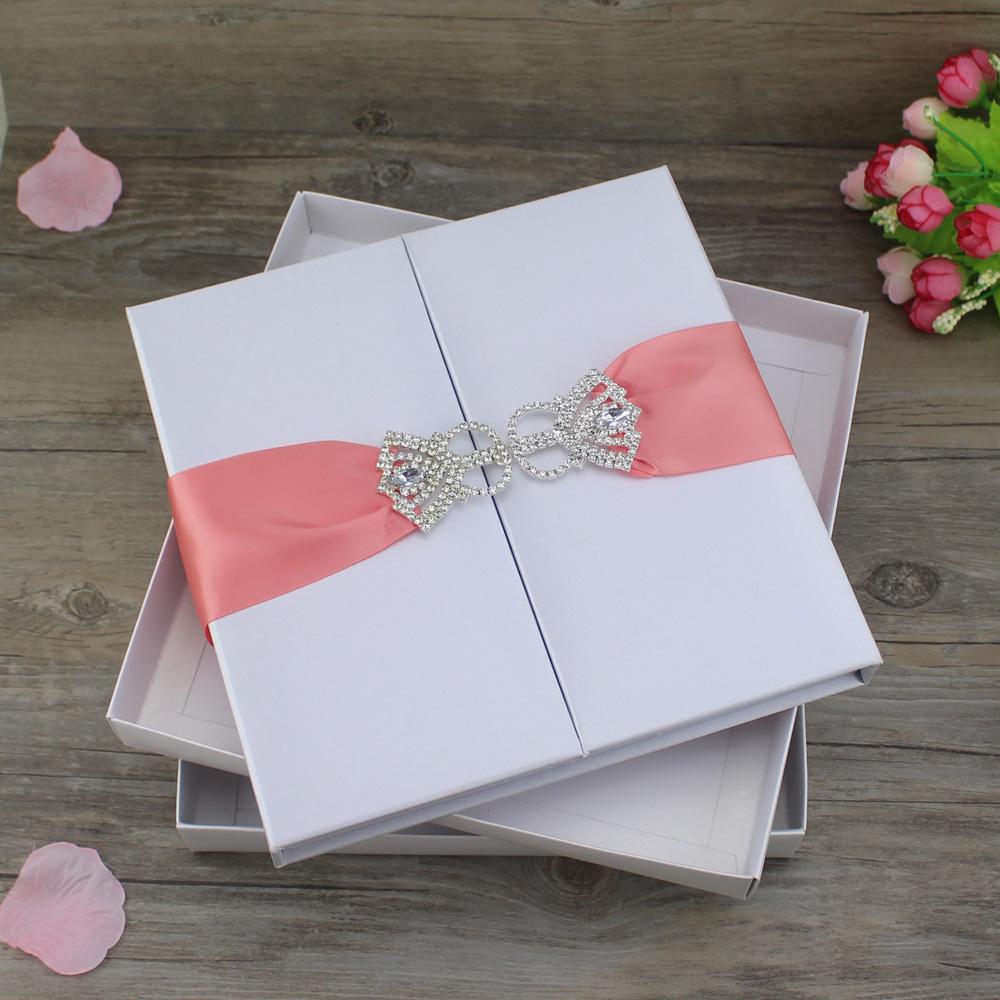 Silk Boxes For Invitations Wholesale